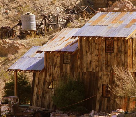 Tin Roof Rusted Photograph by Bonnie Stillman