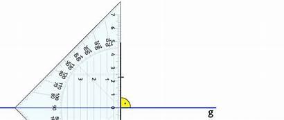 Geraden Parallele Abstand Kapiert Geometrie Senkrechte Mathematik