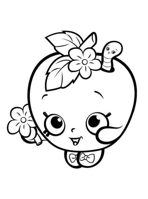 Kleurplaat Emoji Donut by Kleurplaten En Zo 187 Kleurplaten Shopkins