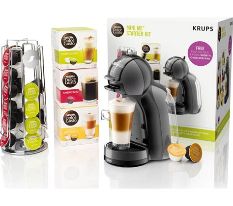 Get coffee and recipe inspiration from our monthly tastemakers. Buy DOLCE GUSTO by Krups Mini Me KP128BUN Coffee Machine Starter Kit - Black & Grey | Free ...
