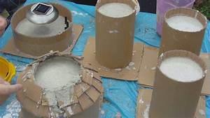 Formen Für Beton : beton gie en diy leuchttum aus beton in selbst gemachten papp formen giessen youtube ~ Yasmunasinghe.com Haus und Dekorationen