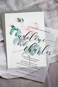 best 25 wedding invitations ideas on pinterest writing With wedding invitation translucent paper