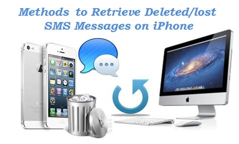 how to retrieve deleted texts on iphone 5 without backup 4 methods to get deleted lost text messages back on