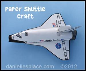 Free Paper Space Shuttle Craft Patterns | Printable Craft ...