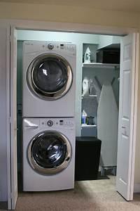 laundry closet ideas 5 Ways to Revamp a Laundry Room on a Budget - Jenna Burger