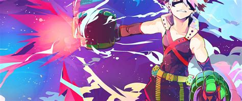 21 9 Anime Wallpaper - 21 9 tv bnha my academia punch wallpaper anime