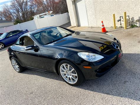 Selling this pristine 2007 slk 350 with only 27600 miles, black on tan, new tires and brakes, clean carfax, retractable hardtop with all the. Used 2007 Mercedes-Benz SLK 2dr Roadster SLK 350 for Sale in Blackwood NJ 08012 Auto Addictions
