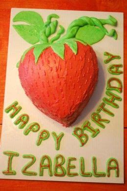 How To Decorate Shaped Cake - how to make and decorate a strawberry shaped cake