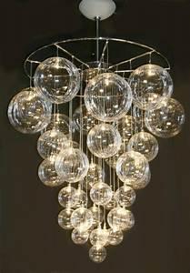 22 DIY Bubble Chandelier - 34 DIY Chandeliers to Light up