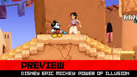 Preview Epic Mickey Power Of Illusion Is Pure Magic