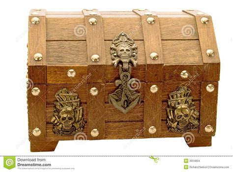 coffre de pirate images stock image 3934804