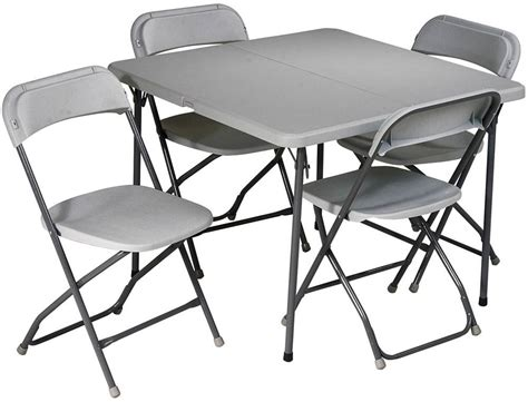 office 5 folding table and chairs set sd