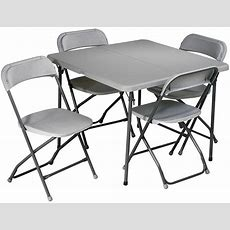 Office Star 5 Piece Folding Table And Chairs Set Sd