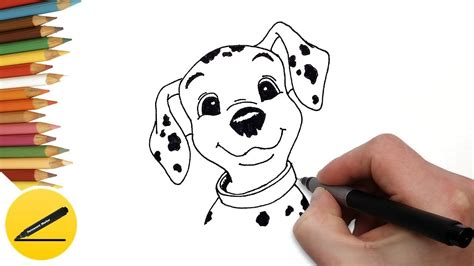 dalmatian clipart easy drawing dalmatian easy drawing