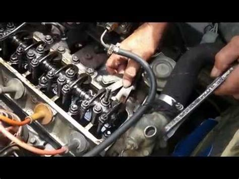 setting  tappet  gasoline engine valve clearance