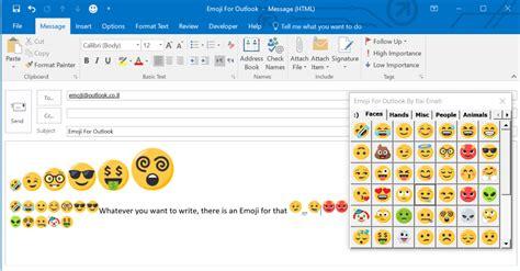 emoji  outlook