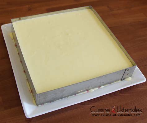 chalumeau pour cuisine recette bavarois vanille et cerises le de cuisine