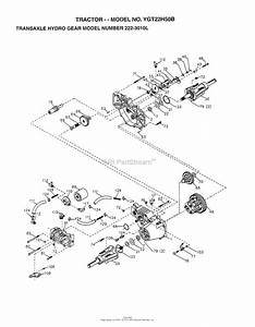 Ayp  Electrolux Ygt22h50b  1998  Parts Diagram For