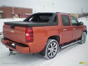 2008, Sunburst, Orange, Metallic, Chevrolet, Avalanche, Ltz, 4x4