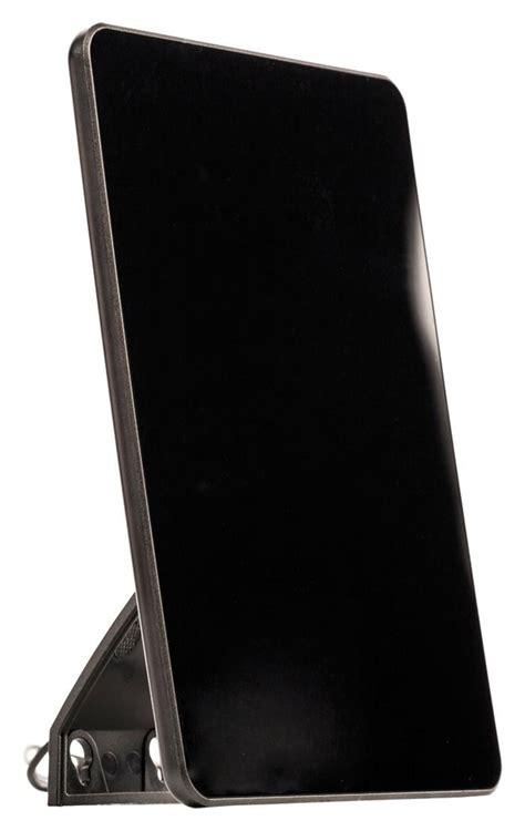 Antenna Tv Lificata Per Interni Antenna Dvb T Per Interni Formato Tablet Da 30 Db Fm Vhf Uhf