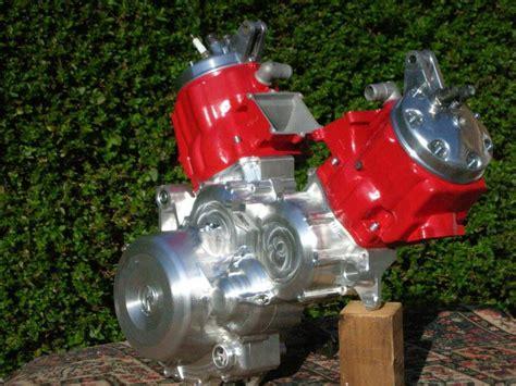 Two Honda Cr500 Engines Make A Mental Cr1000 V-twin