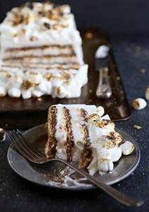 S'mores No-Bake Icebox Cake - Completely Delicious
