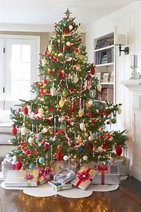 Pied De Sapin Avec Réserve D Eau : decoration sapin noel rouge et blanc ~ Dailycaller-alerts.com Idées de Décoration