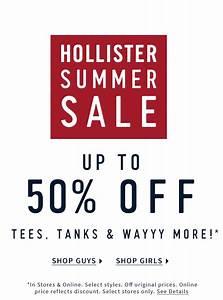 Hollister Summer Sale