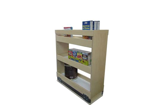 Slide Out Spice Rack Made To Fit Spice Rack Shelving
