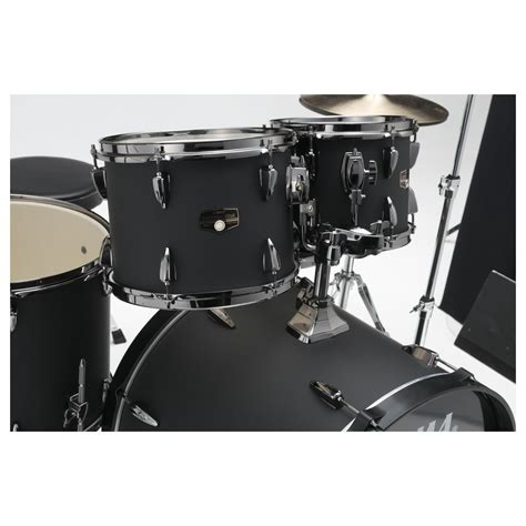 Out Black tama imperialstar 22 quot 6pc drum kit with hardware blacked