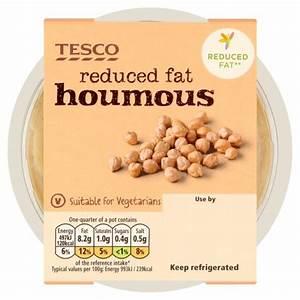 Tesco Reduced Fat Houmous Dip 200g My Vegan Supermarket