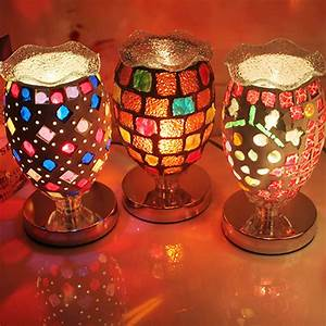 tiffany colorful table lamps complex antique mosaic lamp With table lamp no plug