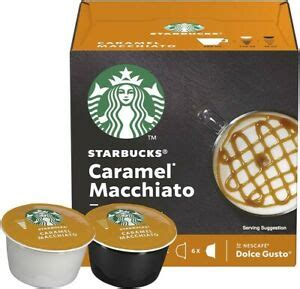 Compatible with nescafe dolce gusto coffee machines (sold separately), the starbucks dolce gusto caramel macchiato coffee pods are rich and creamy, with a delicious car. Starbucks Caramel Macchiato by Nescafé Dolce Gusto (12 pods / 6 drinks) | eBay