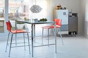 Table Cuisine étroite : petites tables de cuisine en 14 mod les d co gain de place ~ Teatrodelosmanantiales.com Idées de Décoration