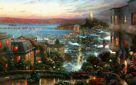 Wallpaper For Free by Kinkade Wallpapers For Desktop 64 Images