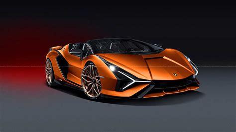 lamborghini sian fkp  roadster planned  sold