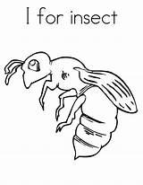 Coloring Bug Printable sketch template