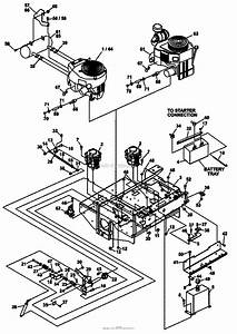 Bunton  Bobcat  Ryan 942254f Procat 29hp Kaw W  61 Side Discharge Parts Diagram For Upper Engine