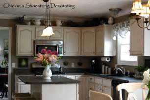 kitchen hutch decorating ideas chic on a shoestring decorating my kitchen