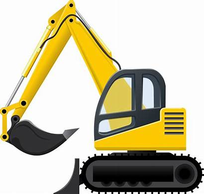 Construction Clipart Clip Equipment Heavy Excavator Projects
