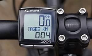 Sigma Berechnen : sigma 1009 ein fahrradtacho auf dem pr fstand ~ Themetempest.com Abrechnung