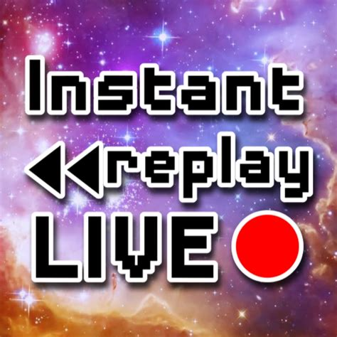 Instant Replay Live - YouTube