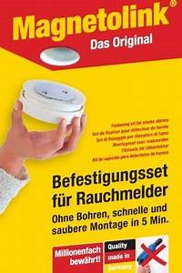Rauchmelder Zum Kleben : magnetolink rauchmelderbefestigung nakilep ~ Yasmunasinghe.com Haus und Dekorationen