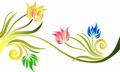 Swirl Flower Clipart Website Transparent Screen Fiverr