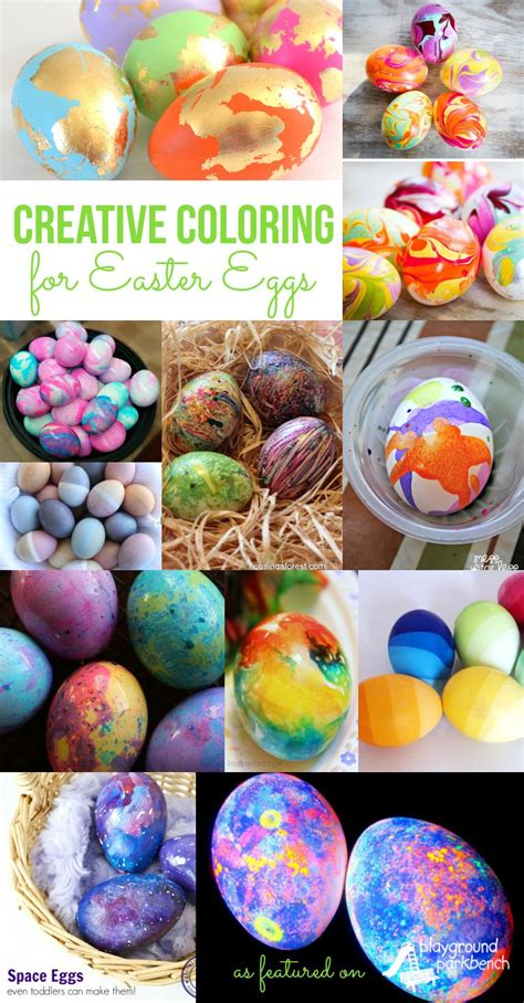 Easter Egg Coloring Ideas by 25 Creative Ideas For Decorating Easter Eggs