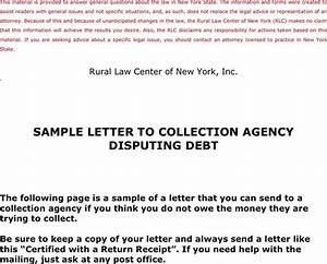Collection letter template download free premium for Sample letter to debt collection agency