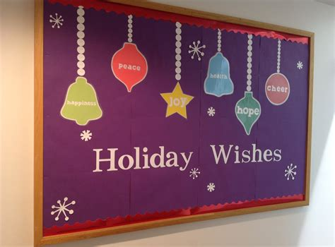 christmas crafts bulletin boards