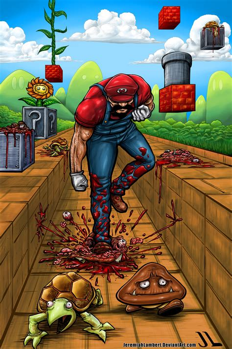 Super Killer Mario Ruined Childhood Know Your Meme