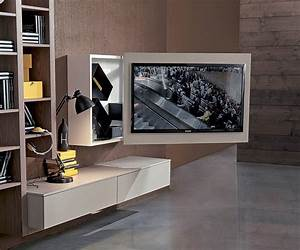 Tv Schrank Mit Halterung : moderne tv wandhalterung schwenkbar aus metall lackiertes holz box fimar srl videos ~ Bigdaddyawards.com Haus und Dekorationen