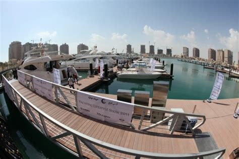 Boat Manufacturers Qatar by Gulf Craft S Yachting Lifestyle Show 2011 In Qatar Yacht
